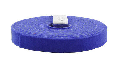 Eco Scratch 10m Roll of Hook & Loop Cable Tie, Blue, 3P Cabling, PatchGrip