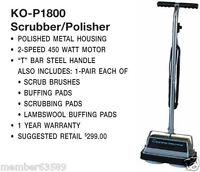 Koblenz P-1800 P1800 Upright Polisher Scrubber Polisher
