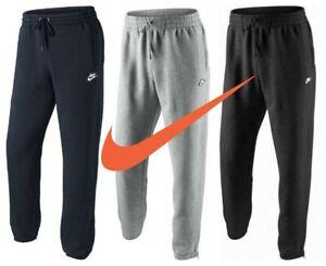 Nike-Mens-Tracksuit-Bottoms-Joggers-Sweatpants-HBR-Fleece-Trousers-Cotton