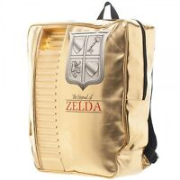 The Legend Of Zelda: Nes Gold Cartridge Backpack By Bioworld