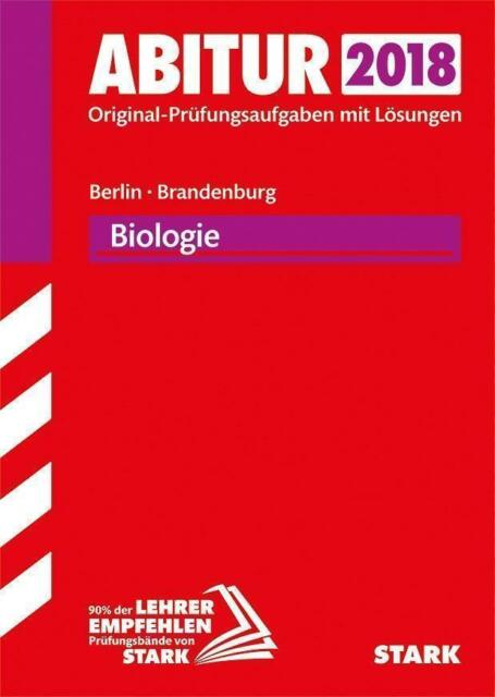 Abiturprüfung Berlin/Brandenburg - Biologie eA bzw. GK/LK (2017, Taschenbuch)