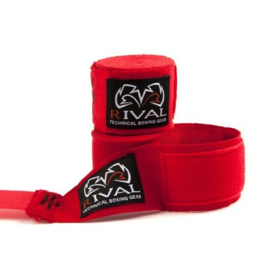 Rival Boxing Hand Wraps 4.5m Mexican Style Stretch Hand Protection 180inch Wrap