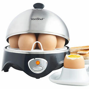 VonShef-Egg-Boiler-Cooker-Poacher-Steamer-Electric-Boiled-7-Eggs-Omelette-Maker