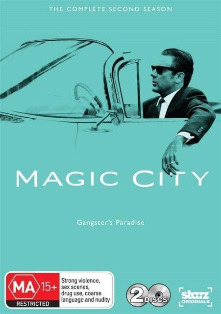 Magic City: Complete Season 2 (DVD, 2-Disc Set) Region 4 - Very Good Condition