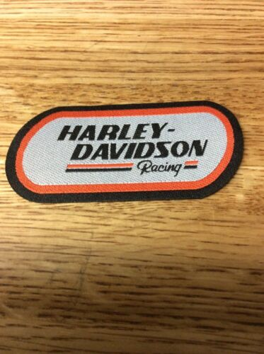 VINTAGE HARLEY DAVIDSON RACING PATCH X-5