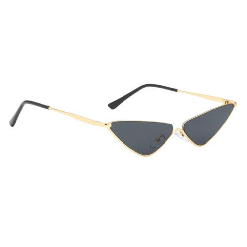 Sonnenbrille Kleine Dreieck Metallrahmen Brille Unisex Gläser