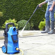 Neo Electric High Pressure Washer 110 Bar Power Jet Patio Car Cleaner With Brush