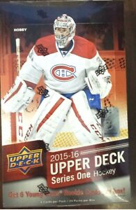2015-16 UPPER DECK SERIES 1  COMPLETE BASE SET 1-200  FREE SHIPping us