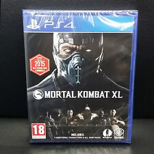 Mortal Kombat XL PS4 Game 2016 NEW English, Portuguese, Spanish, French, German