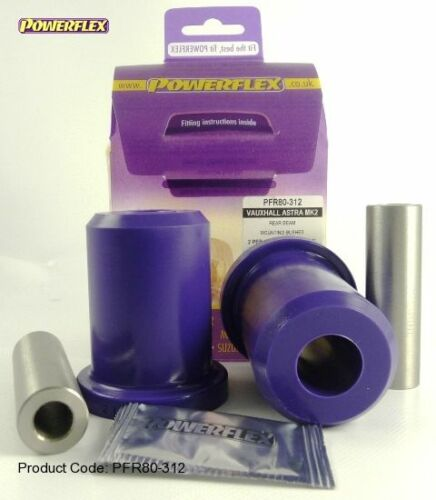 2x pu-casquillos manillar longitudinal almacén eje trasero Opel Kadett D /& e PowerFlex 80-312