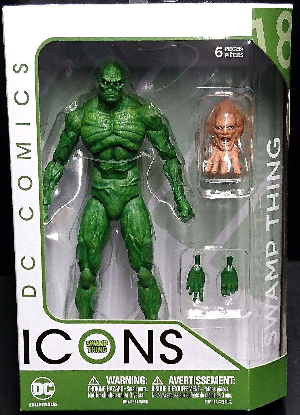 DC Comics Icons 6  Scale SWAMP THING & CRANIUS (Leader of Un-Men) New  (Batman)