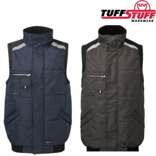 Tuffstuff Pro Travail Veste sans manches pour homme S-3XL Coupe-vent rembourré isolé veste sans manches