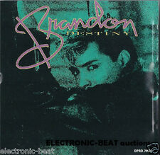 BRANDON Destiny w RADIO EDIT & CLUB MIX CD rare PROMO G.T. (gary tutalo)