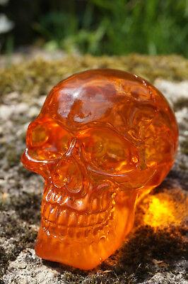 Dedito Hf1626 Figurine Crane Orange Tete De Mort Transparent Heroic Fantasy Prezzo Di Strada
