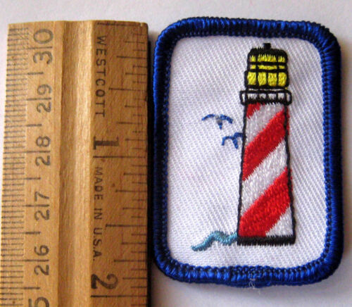 Girl Scout Cadette LIGHTHOUSE BADGE Restoration Preservation Council Own Patch