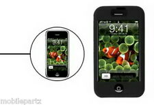 Black Soft Silicone Skin Gel Case Cover for the Apple iPhone 3g / 3GS