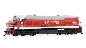 Arnold-Burlington-CB-amp-Q-GE-U28C-Diesel-DCC-Ready-563-N-Scale-Locomotive-HN2312