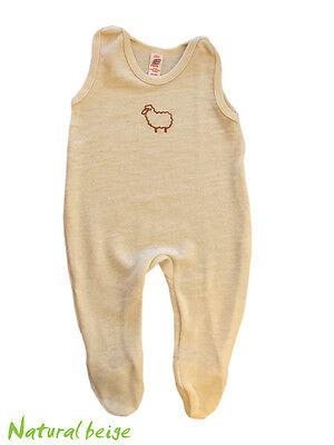 ENGEL Romper 100% MERINO WOOL baby infant footed overall organic pajamas pants