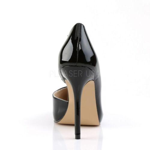nascosta Pleaser scarpe Sexy Elegant sera con Piattaforma Amu22 da nera B¸ro b Lacca Party ppwtqTS