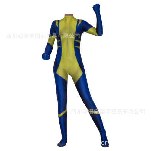 X-23 Wolverine Jumpsuit Laura Kinney Cosplay Costume For Adult /& Kids Halloween
