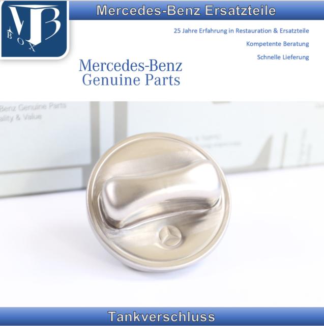 Original Mercedes-Benz W116 S-CLASS S Se Sel Fuel Filler Cap Tank
