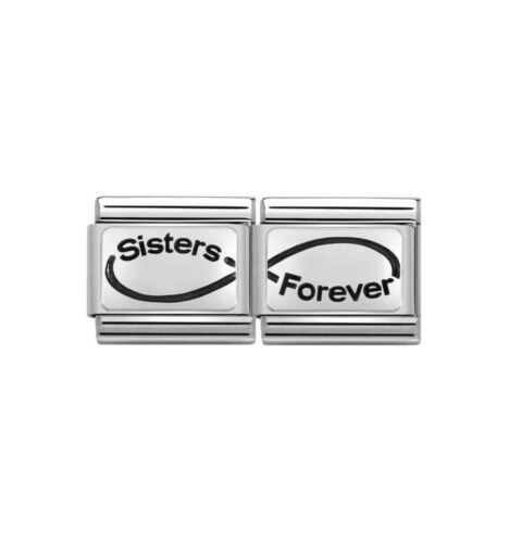 Nomination Silver Sisters Forever Infinity Bundle RRP £44 Save £5 Only £39