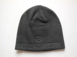 Harley-Davidson-Debossed-Muetze-Strickmuetze-Cap-Beanie-grau-99430-18VM
