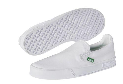 PUMA SELECT SMASH VULK SLIP ON WHITE 367617 02
