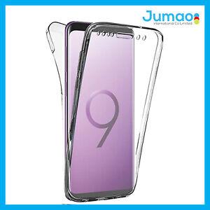 Coque de protection intégrale 360° souple silicone pour mobile Samsung Galaxy S9