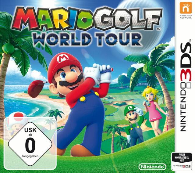 Mario Golf: World Tour (Nintendo 3DS, 2014, Keep Case) NEU OVP