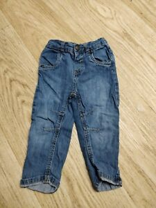 100% Vrai Bébé Garçon Jeans - 9-12 Mois-afficher Le Titre D'origine