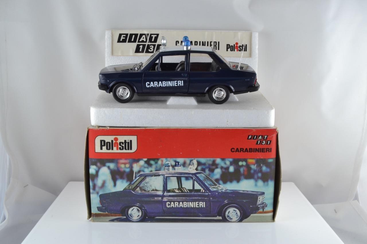 Polistil S69 Fiat 131 Carabineros 1 25 99.9% MIB Excelente En Caja Freepost