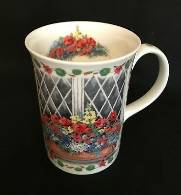 Queen S Kathy Brown Fine Bone China Recipe Gardening Summer Snapdragons Mug Cup Ebay