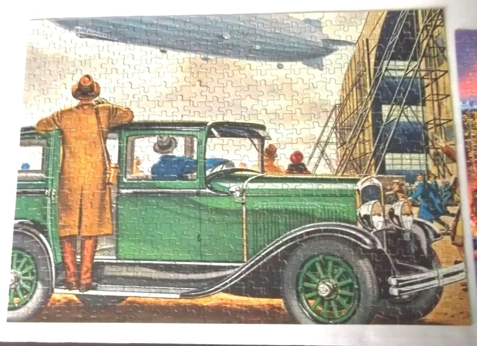 1928 Desoto Jaymar antique Cars 500 Pc PUZZLE ZEPPELIN Harrison Miller