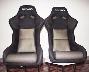 image is loading 2 recaro spg2 seats gold rare racing beautiful honda recaro seat office