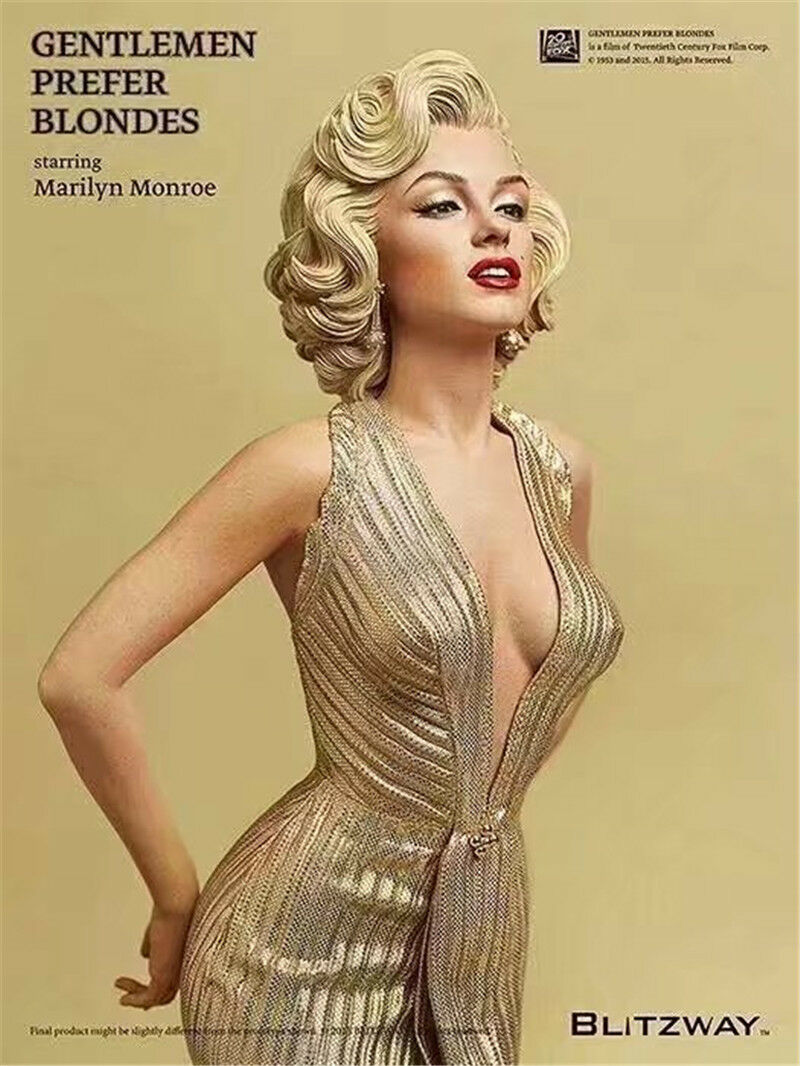 Marilyn Marilyn Marilyn Monroe 1 4 Scale Gentlemen Prefer Blondes PVC Statue Action Figure Model d5cf39