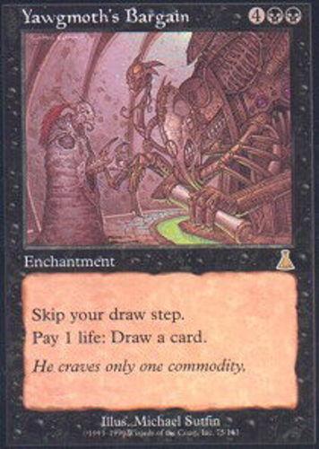 El destino de urza, el regateo de jacomoss X1, la magia inglesa mtg M  T.