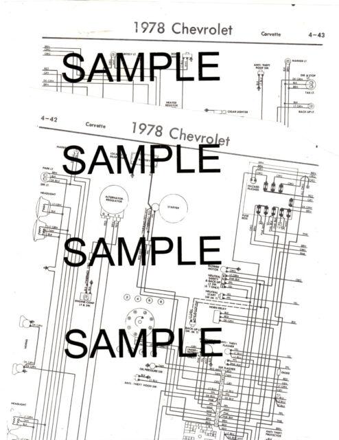 1978 Matador Four Door Models 78 American Motors Wiring Guide Diagram Chart