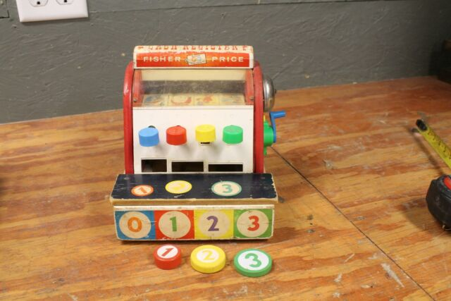 Multicolor Fisher-Price Cash Register Set Toy