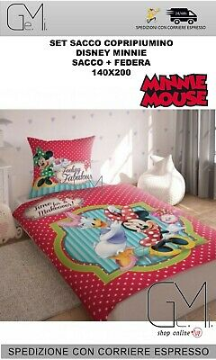 Sacco Copripiumino Disney.Bulgari Bag Duvet Cover Disney Minnie Mouse 1 Square Baby Single