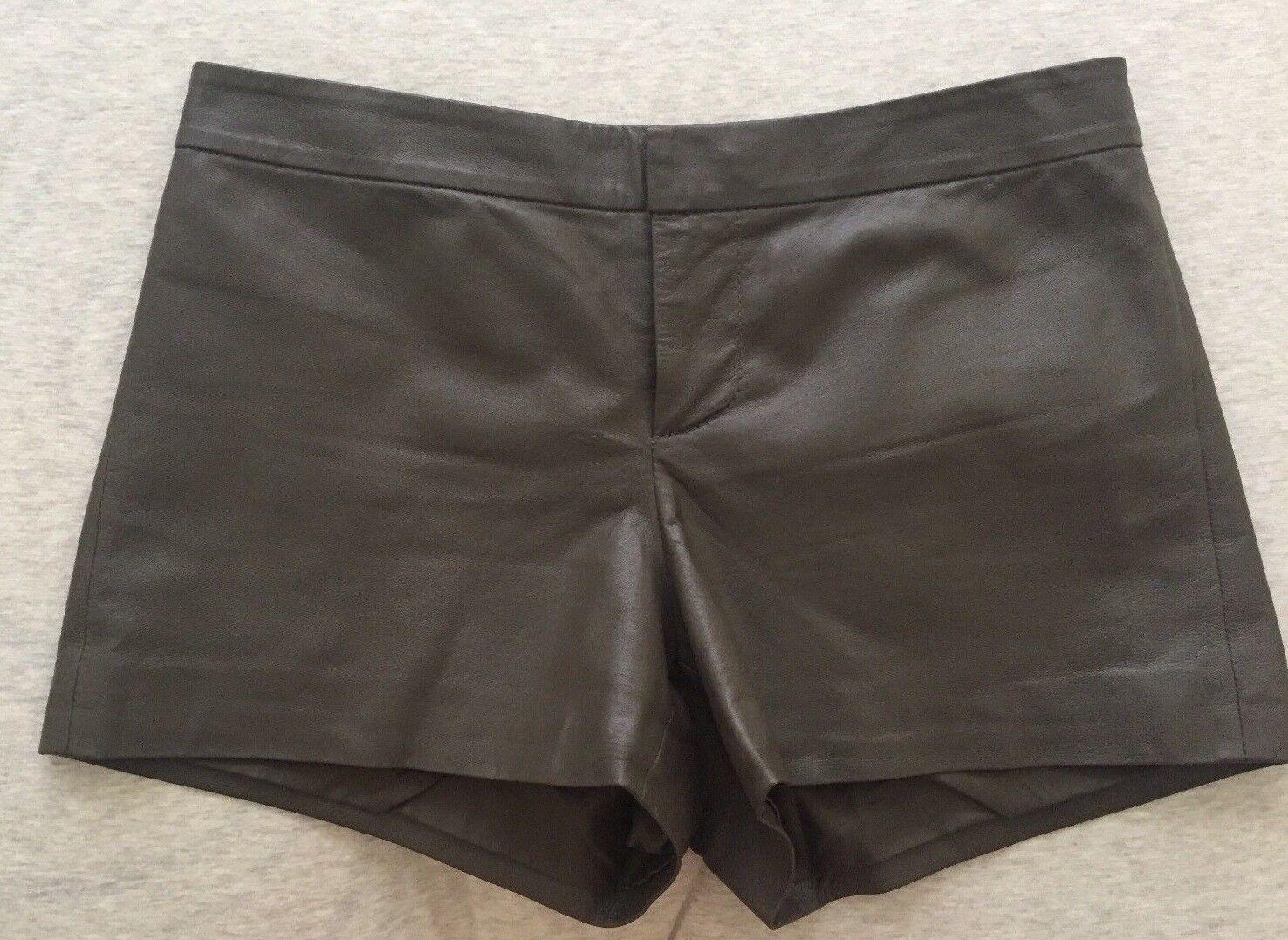 BB Dakota Faux Leather Shorts Size 0