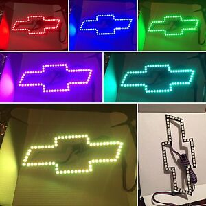 Led Color Changing Bow Tie Rgb Silverado Halo Chevy