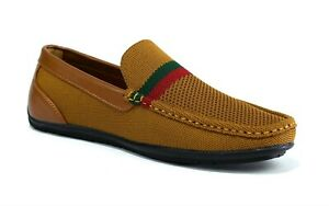 Men-039-s-New-Slip-On-Casual-Boat-Deck-Moccasin-Designer-Loafers-Driving-Shoes-Size