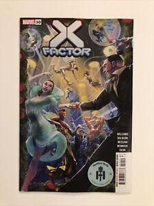 X-FACTOR #10 (2021) VF/NM Hellfire Gala Marvel Death Of 🔥