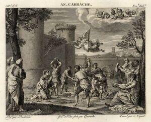 Annibale-Carracci-Le-martyre-de-Saint-Etienne-Gravure-originale-XIXe