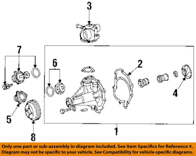 water pump pulley s500 mercedes benz oem m119 engine 5 0 mb p n mercedes m100 engine mercedes oem 94 99 s500 5 0l v8 water pump pulley 1192000705