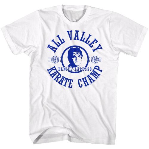 The Karate Kid T-Shirt Karate Champ Daniel Larusso White Tee