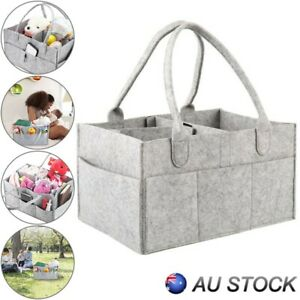Baby-Diaper-Caddy-Nursery-Storage-Bin-Infant-Wipes-Bags-Nappy-Organizer-Baskets