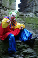 Halloween-horror-scary-killer Clown it Fancy Dress Costume Teen-xxl