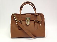NEW. Michael Kors Hamilton Saffiano Leather East West Satchel   #21.3